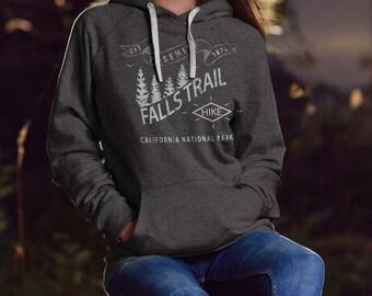 Yosemite Falls Trail - Hooded Sweatshirt - Yosemite hoodie