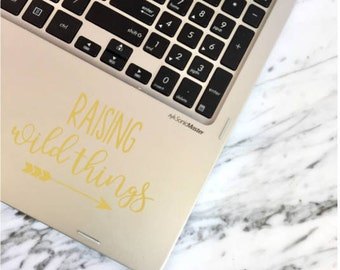 Decal | Raising Wild Things |  Free Shipping