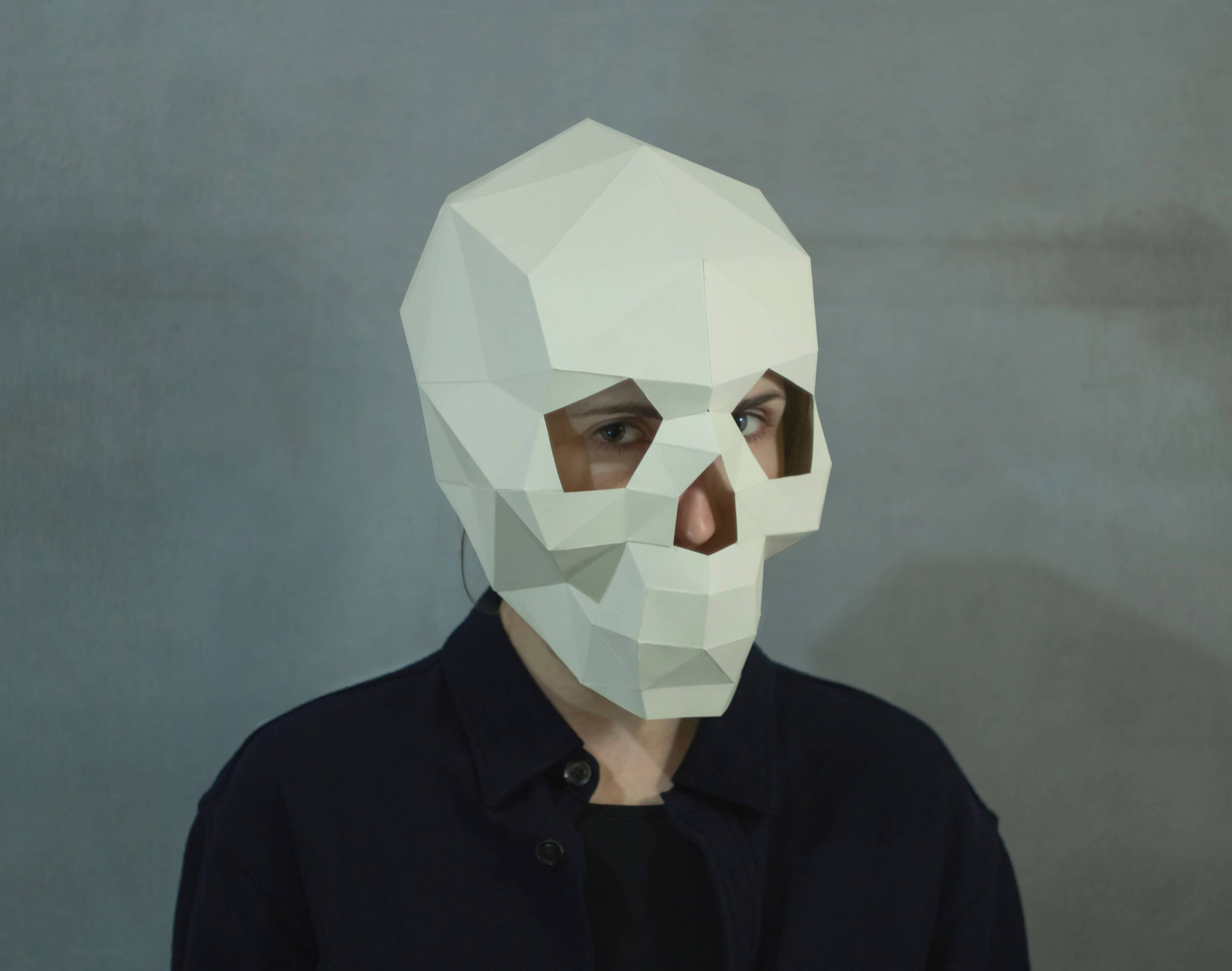It's just a picture of Soft Paper Mask Template
