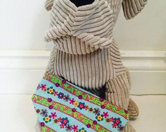 Dog Bandana, Rainbow summer bandana, bandana for dogs.