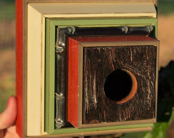 Projectile Camera Style Birdhouse BH14 -One of a Kind