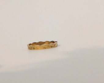 Hong Kong 20 Cents Coin Ring