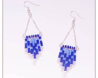 """Inspiration Collection"" blue earrings"