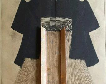 Christine Tarpey Yabure Kimono Art Signed Limited 26/200 Unframed
