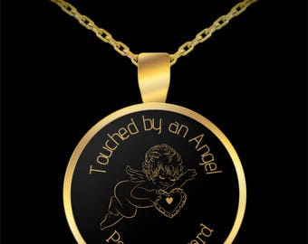 Touched by an Angel Gold Plated Necklace