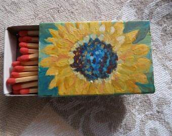 Sunflower Matchbook