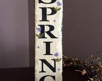 """New SPRING vertical slate, 12"""" lomg"""