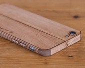 Mahogany iPhone Case / Wrap - Smooth Style - Lumber Armor - For iPhone 7, iPhone 6S, iPhone 6 - Available in Teak, Bamboo, Walnut & more!