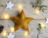 Gold Christmas Star Tree Topper - Traditional Christmas
