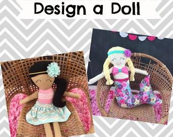 Custom Design a Doll