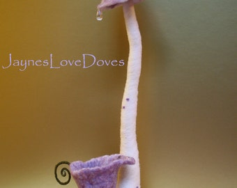 Midsummer fairytale toadstool and fairy dew cup by JaynesLoveDoves