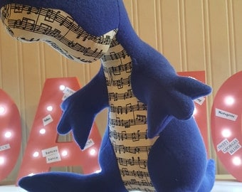 FOR BLUES DANCERS! Riff The Bluesasaurus Rex
