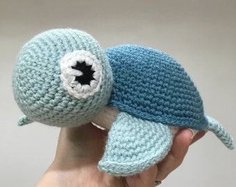 Turtle Plushie Soft Toy - CE Marked - Suitable From Birth - Ideal gift for baby, birthday, baby shower
