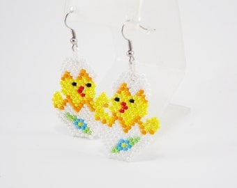 Easter gifts for Easter teens gifts for girls Easter Eggs easter earrings Animal Jewelry kawaii jewelry spring earrings easter jewelry sale