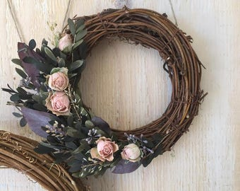 Grapevine Rose (two wreaths)