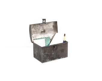 Rustic Tin Tole Box