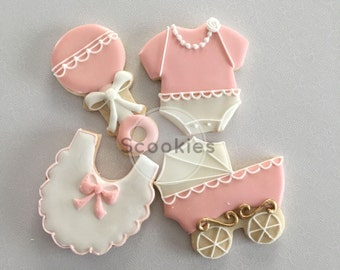 baby shower cookies  etsy, Baby shower invitation