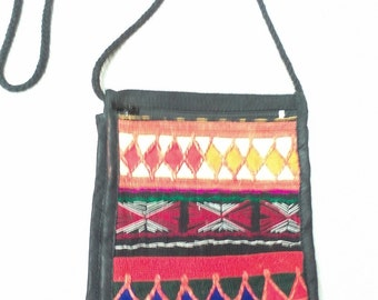Awesome Embroidered Crossbody Satchel