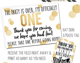 Mr. ONEderful Party Printables | Mr. ONEderful Favor Tags | Favor Sign | Favor Tags | Mister ONEderful Party | Onederful Tags |