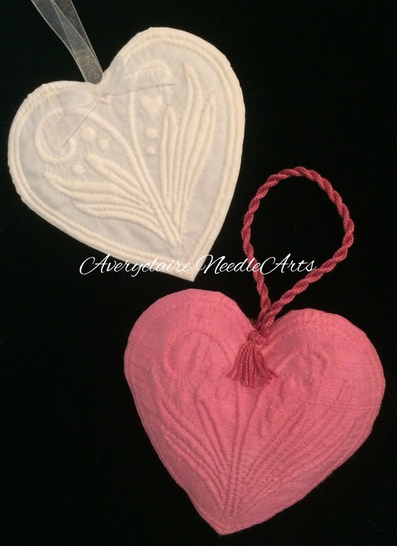 Kit - French Boutis Hearts