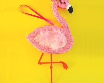 "Flamingo Party, 15"" Flamingo Piñata, Flamingle, Tropical Party, Luau. Flamingo Birthday, Flamingo Bachelorette, One Pinata"