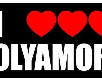 polyamorous.