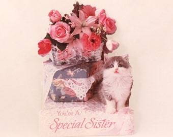 NEW! Vintage Sister Birthday by Dayspring. 1 Card and 1 Envelope included.