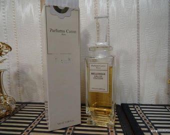 Bellodgia Caron 100ml. Cologne Vintage
