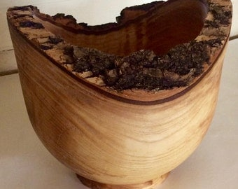 Hand Carved Olive Wood Bowls by Jack Cousin