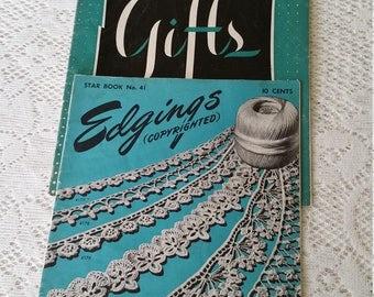 Vintage Crochet Pattern Books 1946