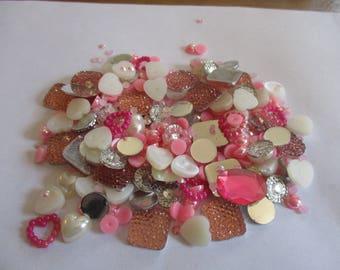 Pink Decoden / embellishment bundle