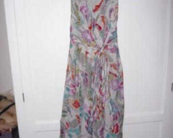 STILLS silk dress size 42 EN - 1980s