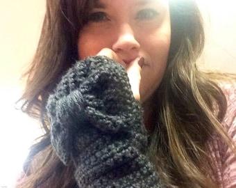 Lovely Bow Fingerless Gloves/Arm warmers