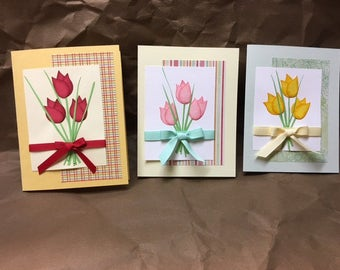 Tulip All Occasion Card - Easter, Mother's Day or Birthday