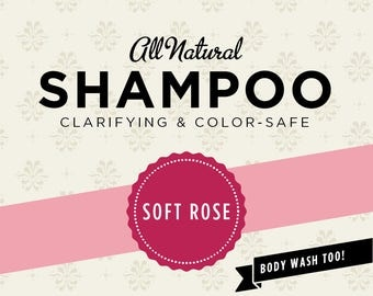 Soft Rose Organic Shampoo