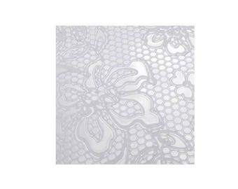 Lace texture plate to paste Fimo Sculpey Cernit