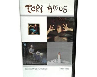 Vintage 1992-1998 Tori Amos The Complete Videos VHS