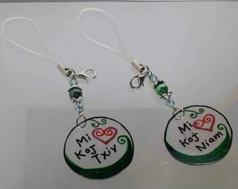 Hmong Couple Charms (Couple Set)