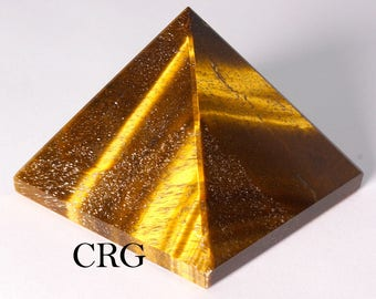 Tiger Eye Pyramid 60-70mm (Qty-1) PY25DG small