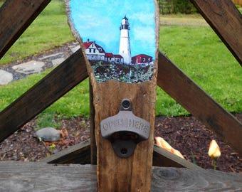 Driftwood maine Bottle Opener