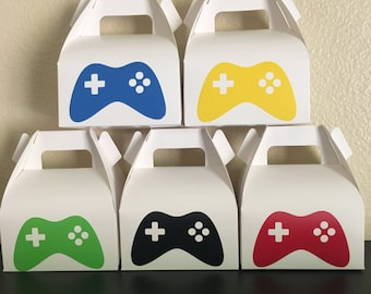Video Game party Bags, Gamer Party bags, Gaming Party Favor Bags