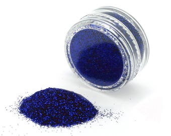 American Blue Cake Glitter for Decorating 4th of July Cupcakes, Cake Pop, Donuts, Glitter Cookies & Edible Glitter Desserts (J043)
