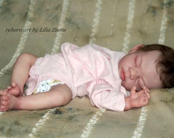 Reborn vinyl doll kits Baby Bunting by Valerie Champion first limited edition of 200 kits
