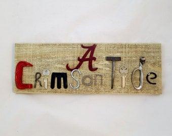 University of Alabama Crimson Tide Sign