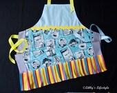 Elvis Presley women's apron. Handmade.