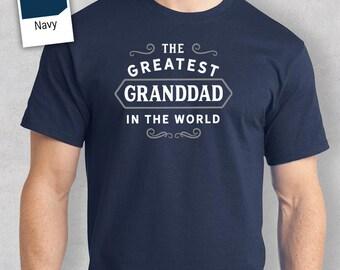 Greatest Granddad in the World, Granddad tee, Granddad Gift, Granddad Tshirt, Granddad T shirt, Birthday Gift, Present, Granddad to be