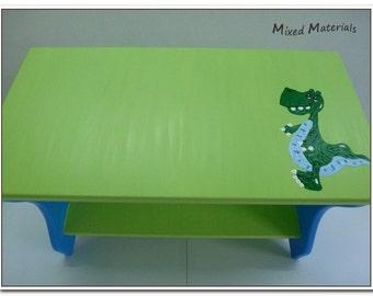 Children - shoe bench seat dinosaur