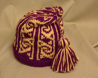 Turkish Delight Hat Knitting Pattern