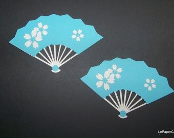 Asian fan die cuts