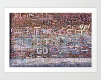 Chicago Cubs World Series Champions Wall Art @ Wrigley Field 'This is the year' by Noriko Aizawa Buckles | art print | tote | pillow case